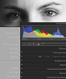 Cursos de fotografa Online - Curso Lightroom