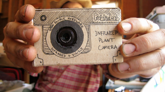 Infragram: una cámara infrarroja