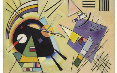 """La fotografía y """"Punto y línea sobre el plano"""" de Vassili Kandinsky."""