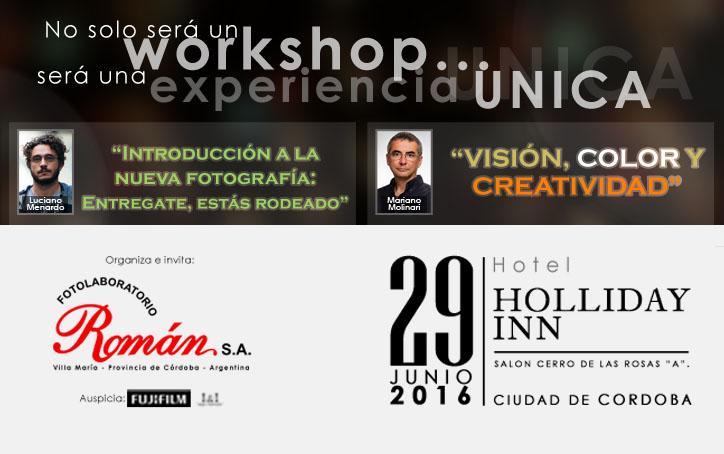Workshop de fotografía profesional en Córdoba, Argentina