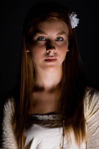 Fotografía en estudio con Iluminación supina