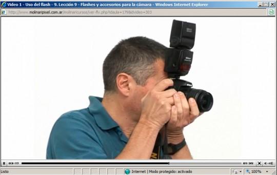 Cursos de fotografía Online - Fotógrafo con cámra
