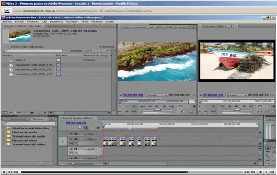 Curso de edicion de video con premiere