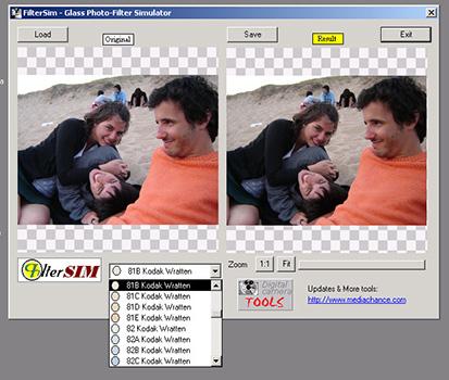 El Filter Sim, de Mediachance