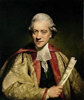 Retrato del músico Charles Burney, por Joshua Reynolds