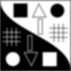 Imagen con Desenfoque de Lente. En los ángulos se ve un efecto de doble imagen y los objetos blancos son mas blancos, no estan agrisados por el efecto. La sensación es mas óptica.