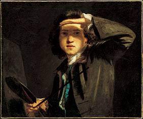 Autorretrato de Joshua Reynolds, autor de la pintura anterior.