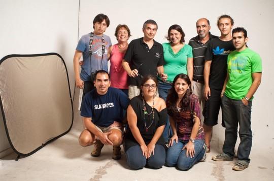 Alumnos del cursos de iluminacion avanzado - Cursos de fotografía