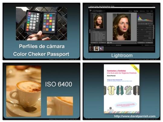 Seminario Acutalización fotógrafos profesionales - Cursos de fotografía