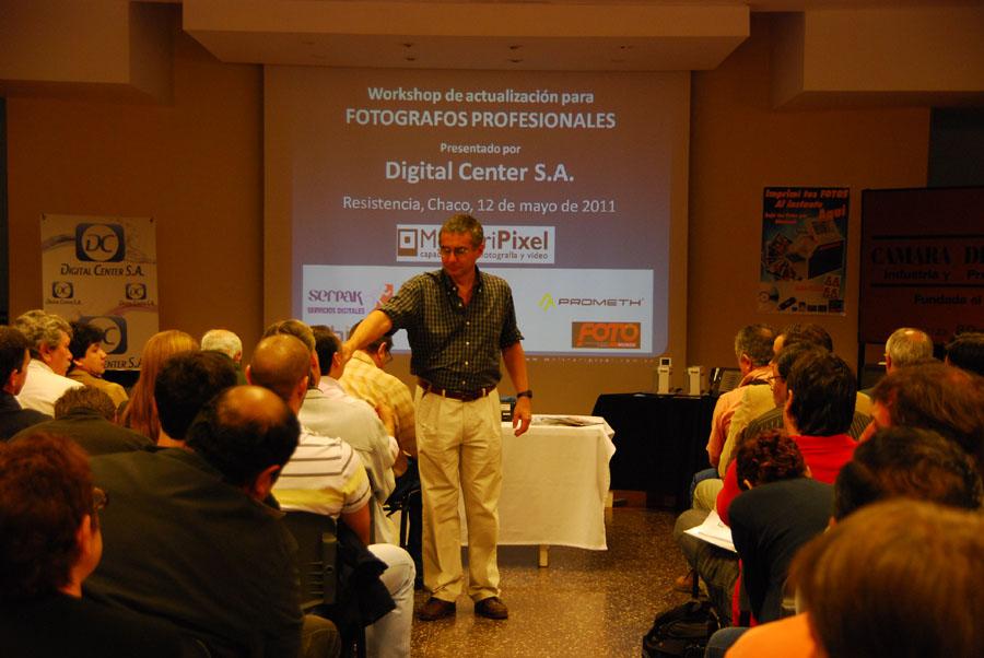 Workshop para fotografoa profesionales en Chaco - MolinariPixel cursos de fotografia