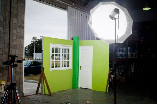 Iluminación en estudio con paraguas - Cursos de fotografía y video digital