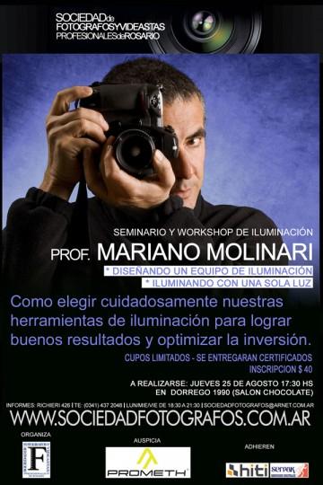 Rosario Mariano Molinari agosto 2011