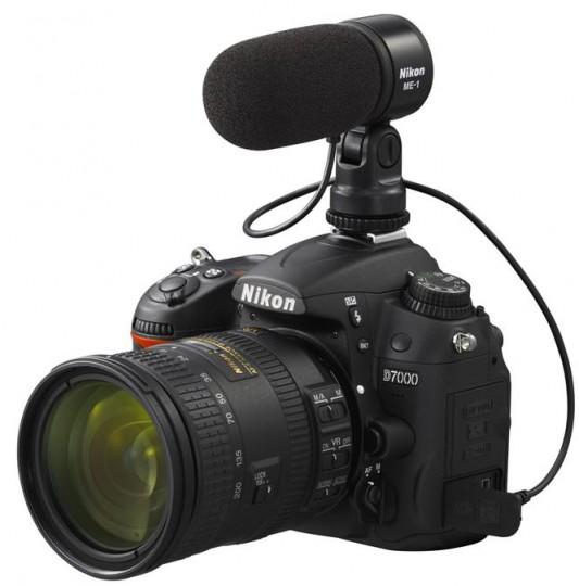 Camara reflex con microfono para la grabación de video