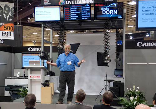 Bruce Dorn en WPPI 2012