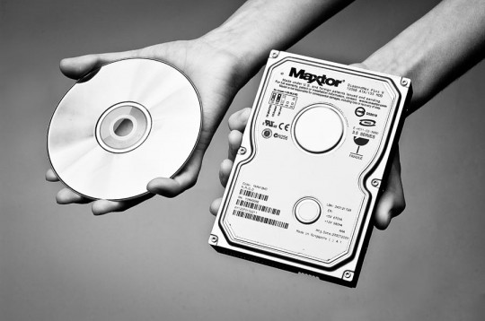 Archivamos nuetsras fotos en DVD o en HDD