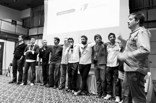 Los profesores y organiazadores del congreso de fotografos de bodas en Rosario