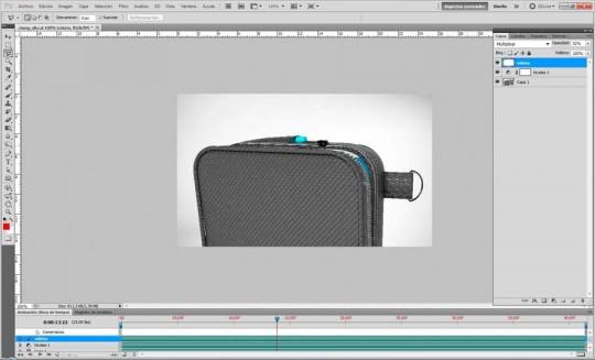 Agregando un efecto de lente en video con Photoshop