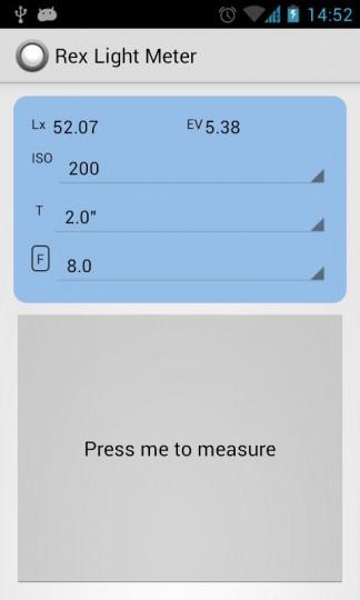 rex light meter