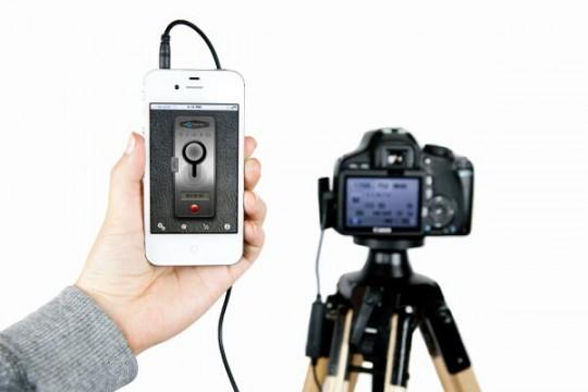 Control de cámaras DSLR con dispositivos móviles