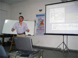 Seminario de fotografía digital en el Foto Club San Justo