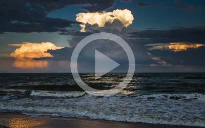 Editando con Lightroom un paisaje a la orilla del mar