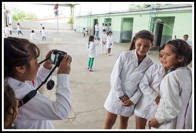 Fotografía en la educación: Escuela Bernardino Rivadavia de Choya, Santiago del Estero, Argentina