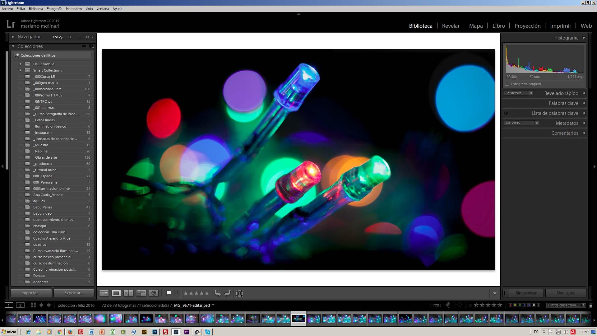 Edicion fotografia profesional Lightroom