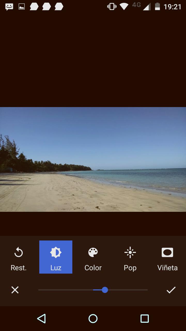 Editar fotografias con Android