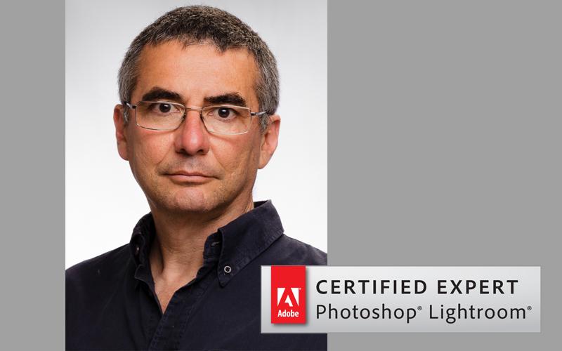 Mariano Molinari experto certificado por Adobe en Lightroom