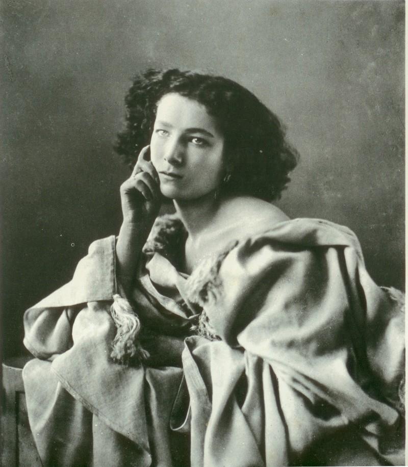 Sarah Bernhardt - Historia de la fotografía