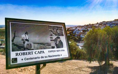 Robert Capa y el lugar donde murió el miliciano