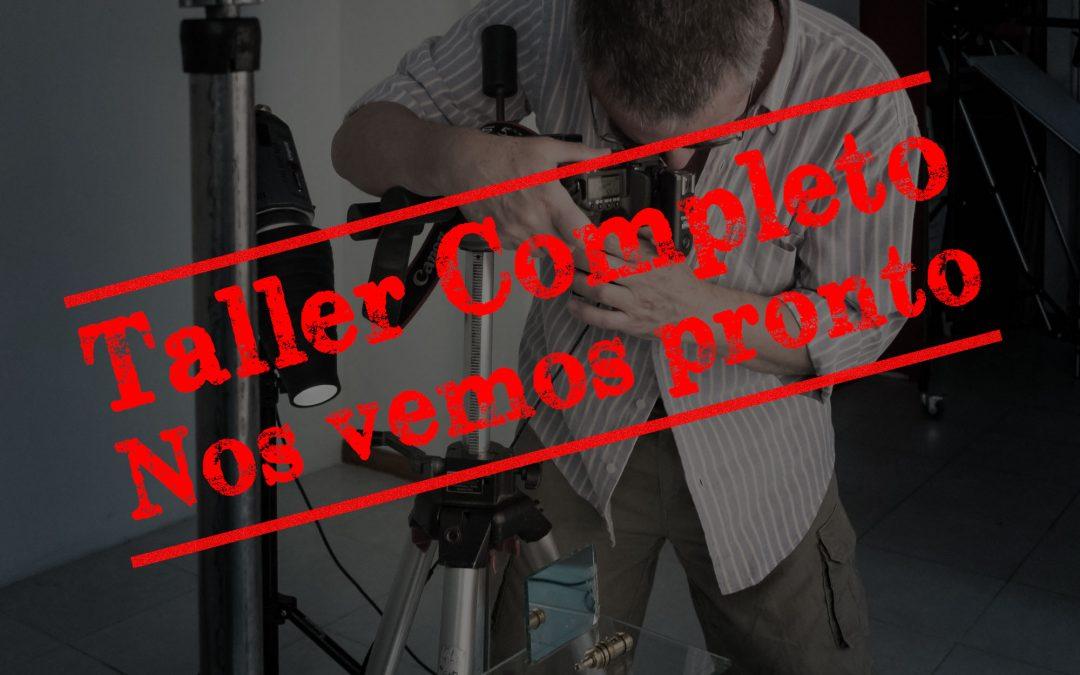 Workshop fotografía de productos