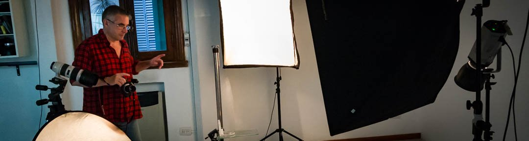 Curso de fotografia en estudio