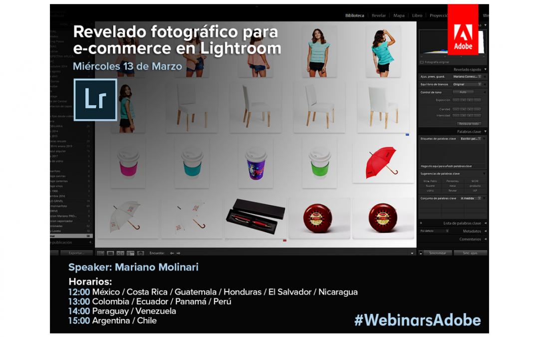 Webinar Online Adobe Lightroom