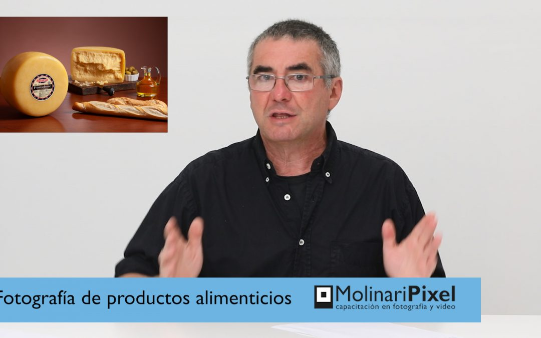 Video Tutorial: Fotografía de alimentos en estudio