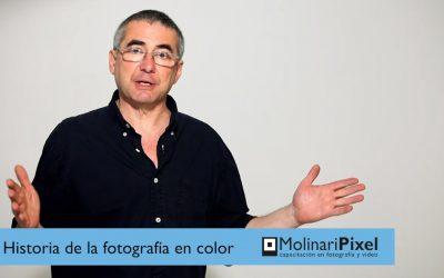 Historia de la fotografía en color