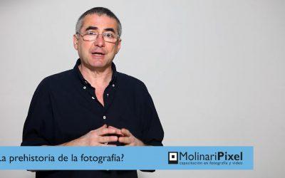 Prehistoria de la fotografía