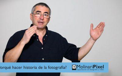 Por que hacer historia de la fotografía?