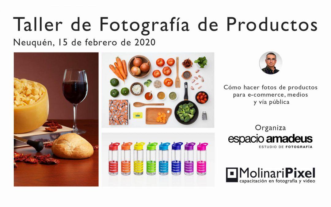 Taller de Fotografía de productos en Neuquén (ARG)