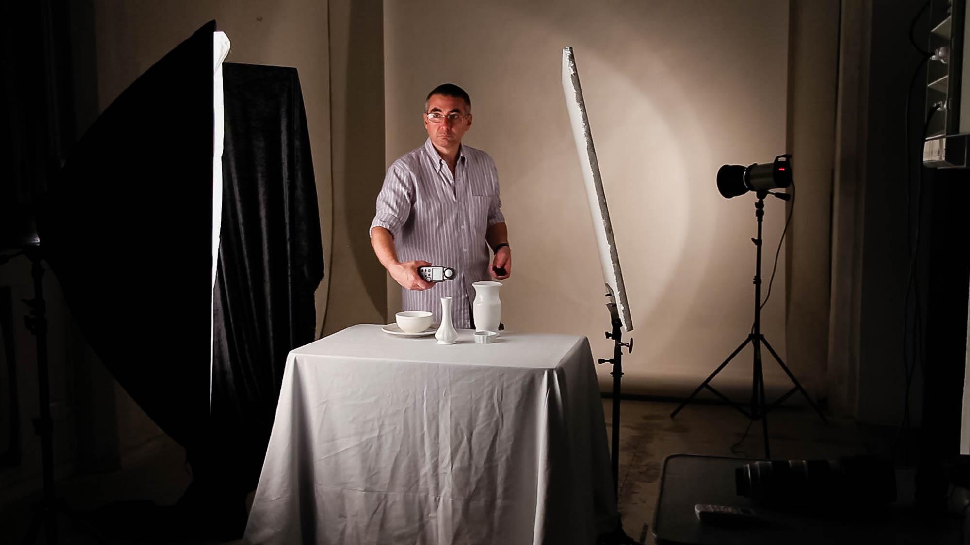 Curso de fotografia de productos en estudio con Mariano Molinari