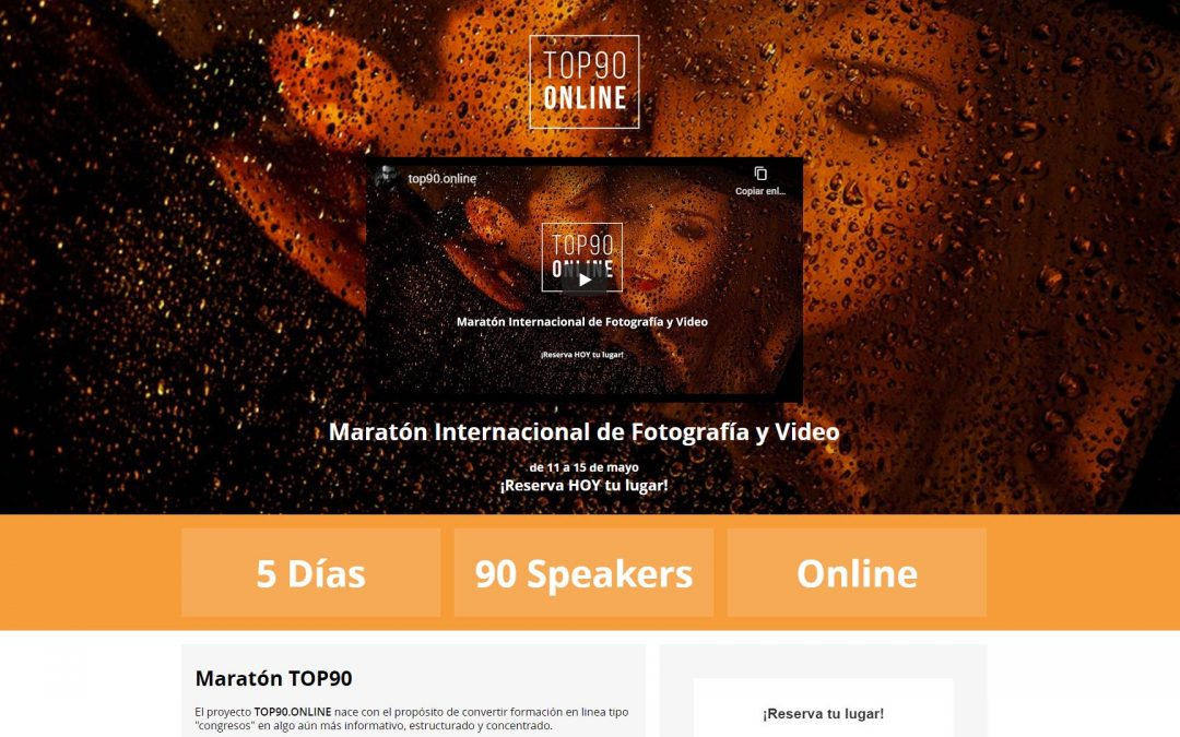 Maratón Internacional Top 90 de Fotografía y Vídeo
