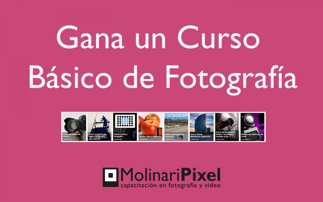Concurso «Gana un Curso Básico de Fotografía»