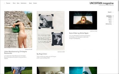 UNCERTAIN Magazine, una revista de fotografía analógica