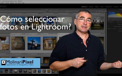 Como seleccionar fotos en Adobe Lightroom Classic CC