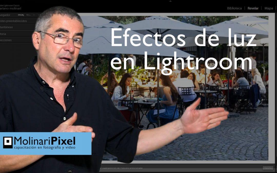 Como modificar la luz en Adobe Lightroom Classic CC