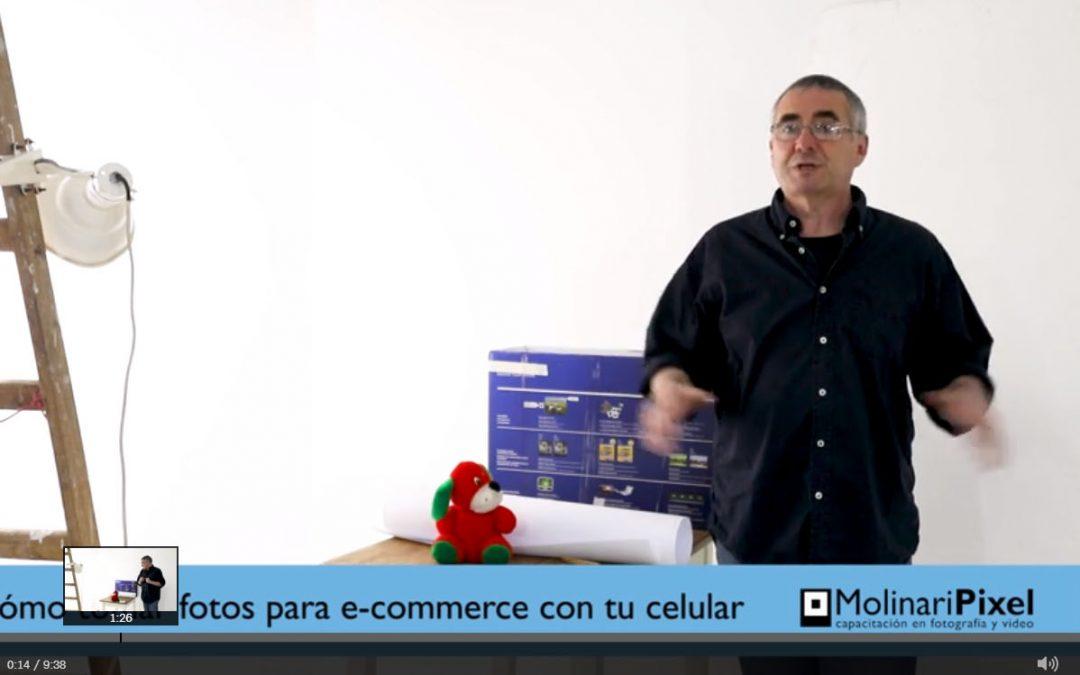 Cómo tomar fotografías para e-commerce con tu celular