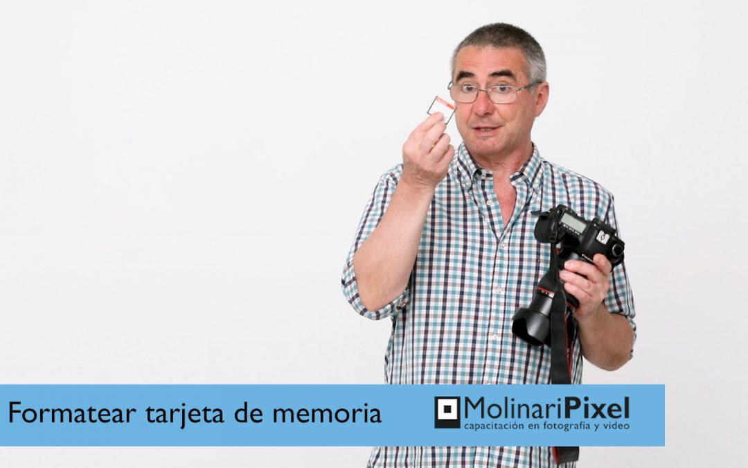 Cómo formatear la tarjeta de memoria de tu cámara fotográfica para no perder fotos
