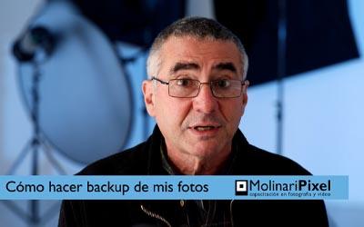 Cómo hacer el backup de nuestras fotografías?