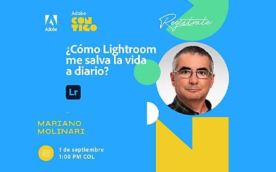 Webinar Adobe Lightroom con Mariano Molinari
